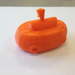 Download free 3D printing templates Submarine, IsabellaMarques56