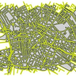 Free 3D printer designs Map of Berlin, IsabellaMarques56