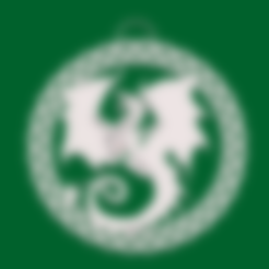 Descargar diseños 3D gratis Pendiente y Colgante Dragón Celta, Anubis_