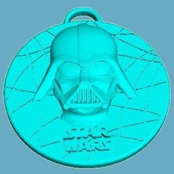 Download free 3D printer model Star Wars Medallion - Darth Vader, Anubis_