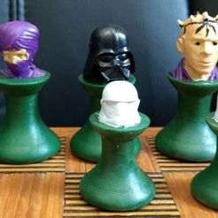 Download free 3D printing designs Star Wars Chess Set, Anubis_