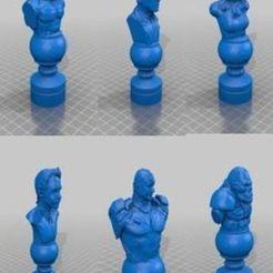 Descargar archivos 3D gratis Juego de Ajedrez DC Villians, Anubis_