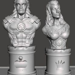 Descargar diseños 3D gratis Juego de ajedrez Thundercats, Anubis_