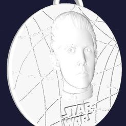 Download free 3D printing designs Star Wars Medallion - Princess Leia, Anubis_