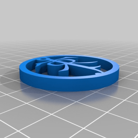 Free 3D printer designs Lord Of The Rings Ear Ring and Pendant, Anubis_