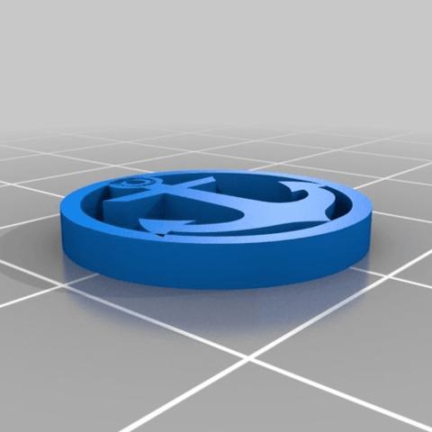 Descargar modelos 3D gratis Pendiente y colgante de ancla, Anubis_