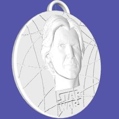 Download free STL file Star Wars Medallion - Han Solo, Anubis_