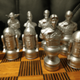 Download free 3D printer templates Star Wars Chess Set Revised, Anubis_
