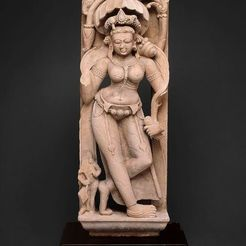 Free STL files Celestial Beauty (Apsara), 8th century, ArtInstituteChicago