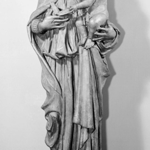 Download free 3D printing models Virgin and Child, ArtInstituteChicago