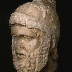 Download free STL files Head of Mars, 2nd century A.D., ArtInstituteChicago