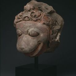Download free 3D printer templates Hanuman, the Monkey God, 9th century, ArtInstituteChicago