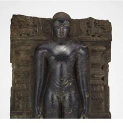 Télécharger plan imprimante 3D gatuit Jaina Tirthankara Chandraprabha debout en méditation (Kayotsarga), 12e siècle, ArtInstituteChicago