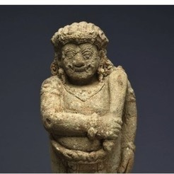 Free STL files Guardian Figure (Dvarapala), c. 15th century, ArtInstituteChicago