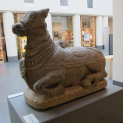 Download free STL file Nandi the Bull • Template to 3D print, AsianArtMuseum