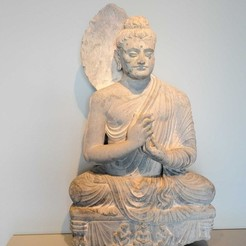 Download free STL file Seated Buddha • Template to 3D print, AsianArtMuseum