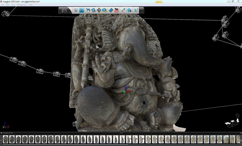 123D_Catch_SeatedGanesh_display_large.jpg Download free STL file Seated Ganesha • 3D print design, AsianArtMuseum