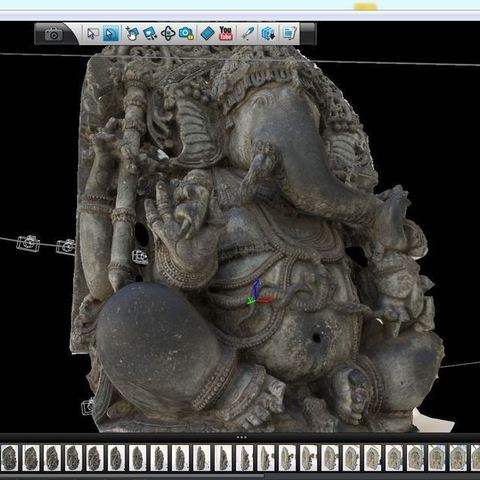 Download free STL file Seated Ganesha • 3D print design, AsianArtMuseum