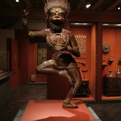 Download free 3D printer designs Simhavaktra Dakini, AsianArtMuseum