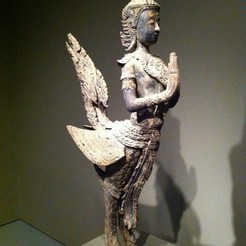 Download free STL file Thai bird man • 3D printing design, AsianArtMuseum