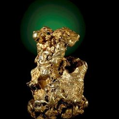 Free 3D printer files The Bunyip Gold Nugget (M 34546), MuseumVictoria