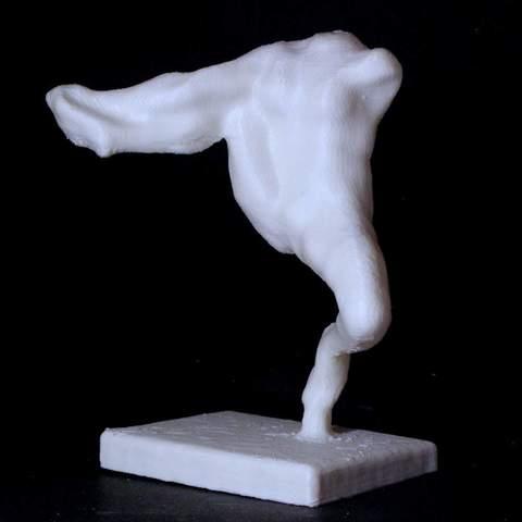 Download free 3D model Iris, Rodin, Portland Art Museum