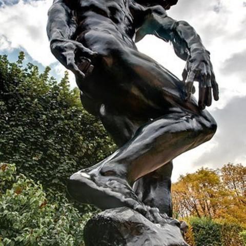 Archivos 3D gratis Adam en The Musée Rodin, París, ArtNerd3D
