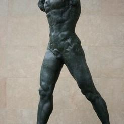 Télécharger modèle 3D gratuit L'homme qui marche au Musée Rodin, Paris, ArtNerd3D