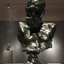 Download free 3D printing templates Heroic Bust of Victor Hugo, Rodin, Portland Art Museum, ArtNerd3D