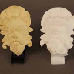 Free 3D printer designs Robert's Neptune, ArtNerd3D