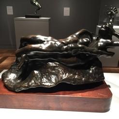 Descargar Modelos 3D para imprimir gratis Fugitive Love, Rodin, Museo de Arte de Portland, ArtNerd3D