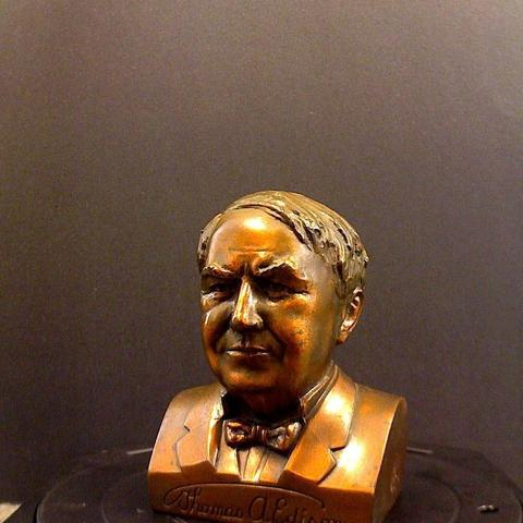 Download free 3D printer model Thomas Edison, ArtNerd3D