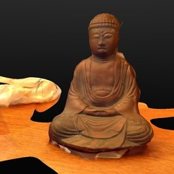 Download free 3D printing models Buddha (Gift from my dad), ArtNerd3D