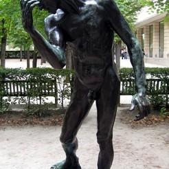 Descargar modelos 3D gratis Estudio del desnudo de Pierre de Wissant en The Musée Rodin, París, ArtNerd3D