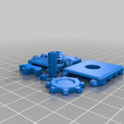 Factorio_Module_Fidget_toy_V5.png Download free STL file Factorio Anti-Productivity Module Fidget Toy • Object to 3D print, Petethelich