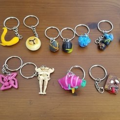 Download free STL file Slay The Spire Keychain Assortment, Petethelich
