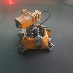 Download free 3D print files Factorio Laser Turret, Petethelich