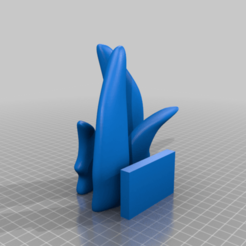 Neow_slay_the_spire_Fins_solid.png Download free STL file Slay the Spire Neow • 3D print template, Petethelich