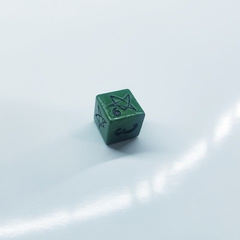 Download free 3D printer templates Arkham dice, Petethelich
