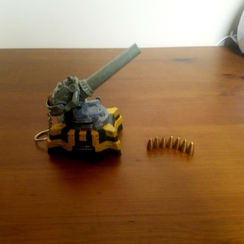 Free 3D printer files Factorio Artillery Cannon, Petethelich