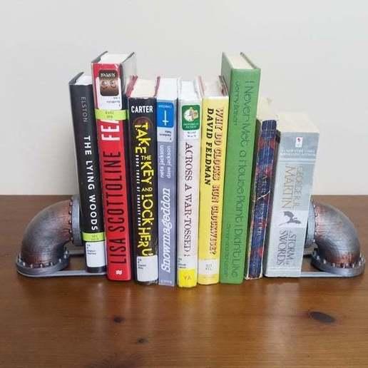 Descargar archivos 3D gratis Soportes de libros de tubería a tierra, Petethelich
