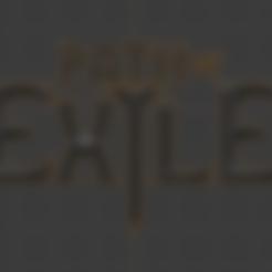 Télécharger fichier STL gratuit Chemin des lettres d'exil, Petethelich