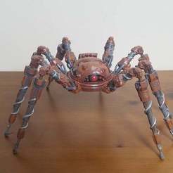 small_20200907_123541_cropped.jpg Download free STL file Factorio Spidertron • 3D printer model, Petethelich