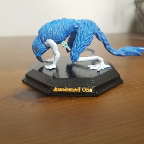 Free 3D printer designs Slay The Spire Awakened One, Petethelich