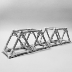 Free 3D model WARREN TRUSS BRIDGE - CONNECTORS KIT, PRACOWNIA71