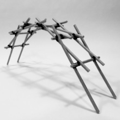 Descargar diseños 3D gratis CONCEPTO DE PUENTE LEONARDO DA VINCI, PRACOWNIA71