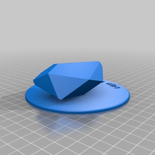 Download free STL file Giant Miniature Table Top Low Poly!, rbm78bln