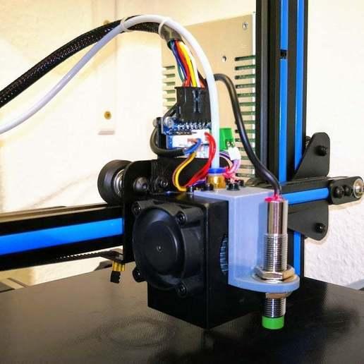 Download free 3D printer templates Geeetech A10 Capacitive Z-Probe Mount (LJC 12A3-4-Z/BX), rbm78bln