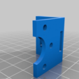 Download free STL files Geeetech A10 BLTouch Mount (stiff, aligned and fixated), rbm78bln