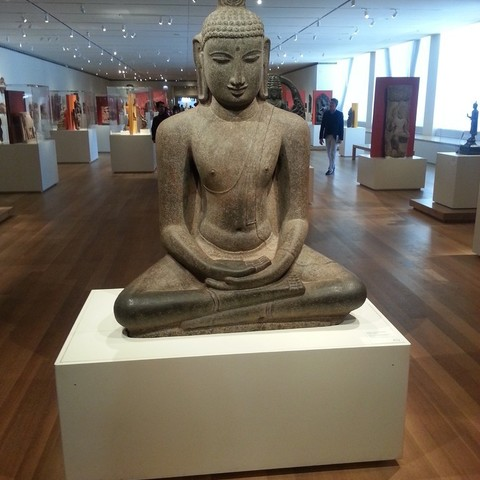 Download free 3D printer templates Buddha Seated in Meditation (Dhyanamudra), Chola period, c. 12th century, Art Institute of Chicago, allanrobertsarty